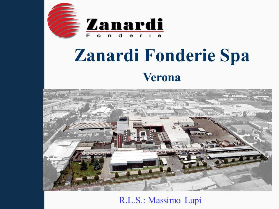 Zanardi Fonderie Spa Verona R.L.S.: Massimo Lupi