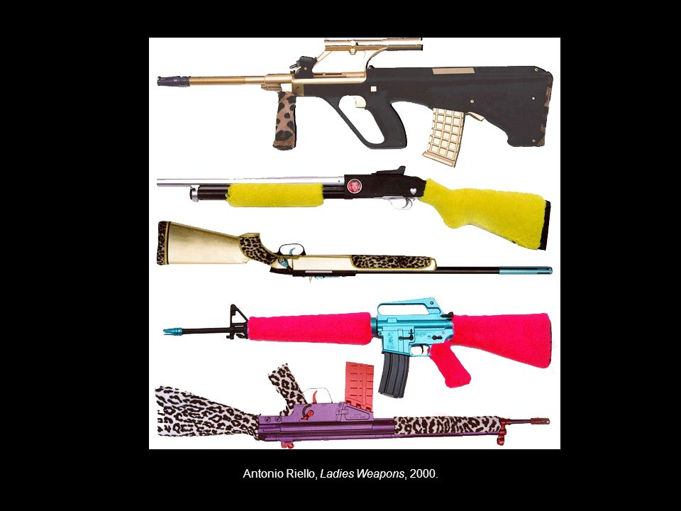 Antonio Riello, Ladies Weapons, 2000.