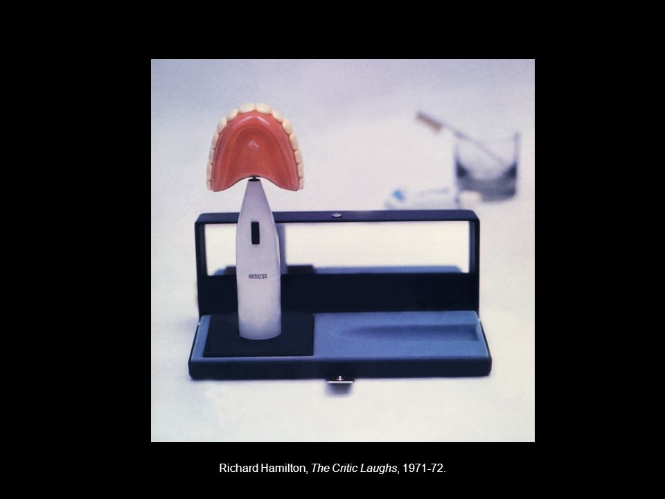 Richard Hamilton, The Critic Laughs,