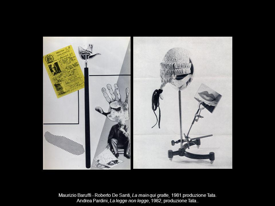 Andrea Pardini, La legge non legge, 1982, produzione Tata..