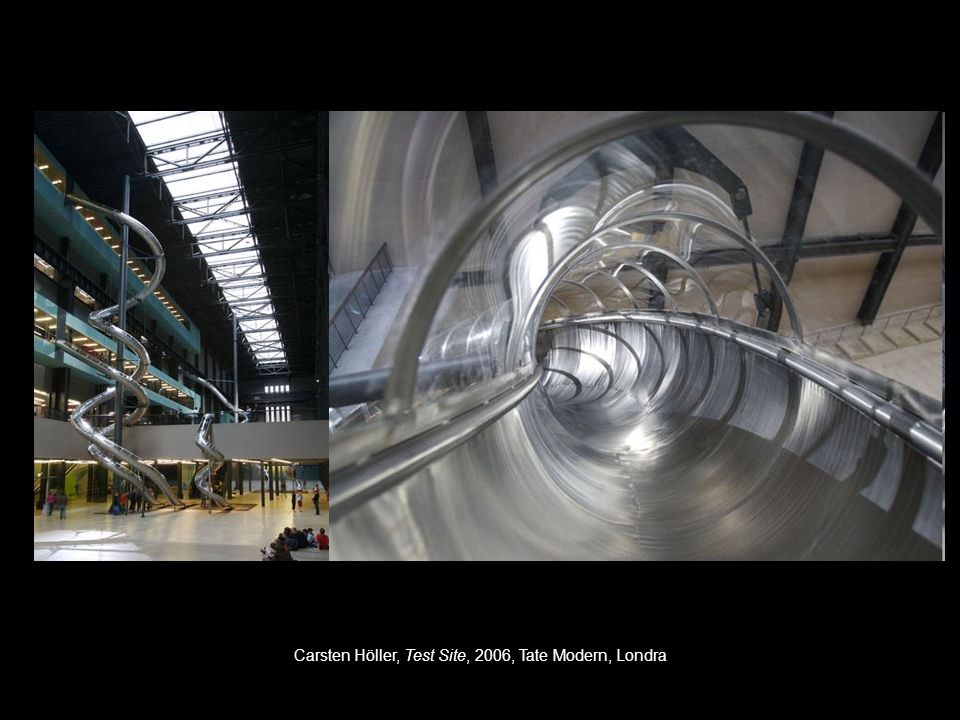 Carsten Höller, Test Site, 2006, Tate Modern, Londra