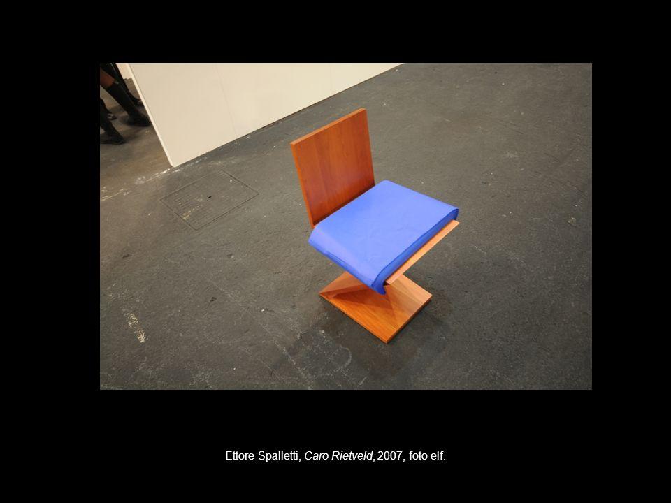 Ettore Spalletti, Caro Rietveld, 2007, foto elf.