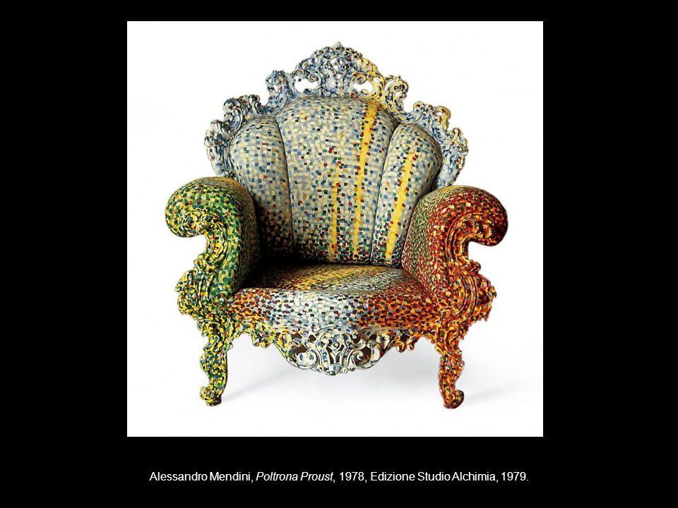 Alessandro Mendini, Poltrona Proust, 1978, Edizione Studio Alchimia, 1979.