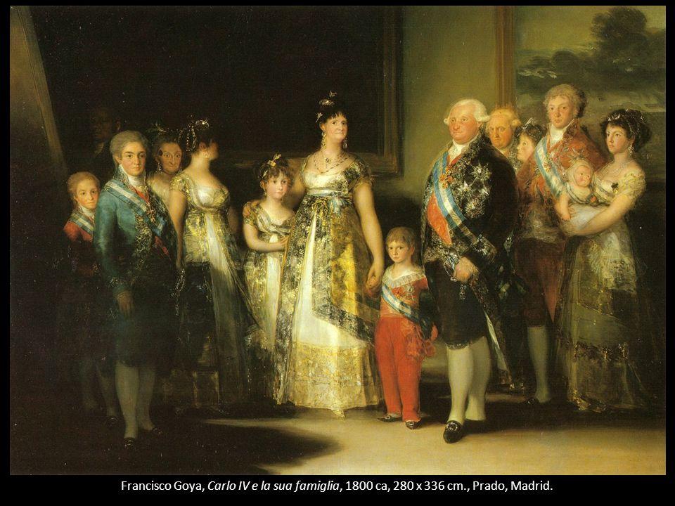 Francisco Goya, Carlo IV e la sua famiglia, 1800 ca, 280 x 336 cm