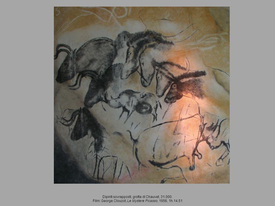 Dipinti sovrapposti, grotta di Chauvet, 31.000.