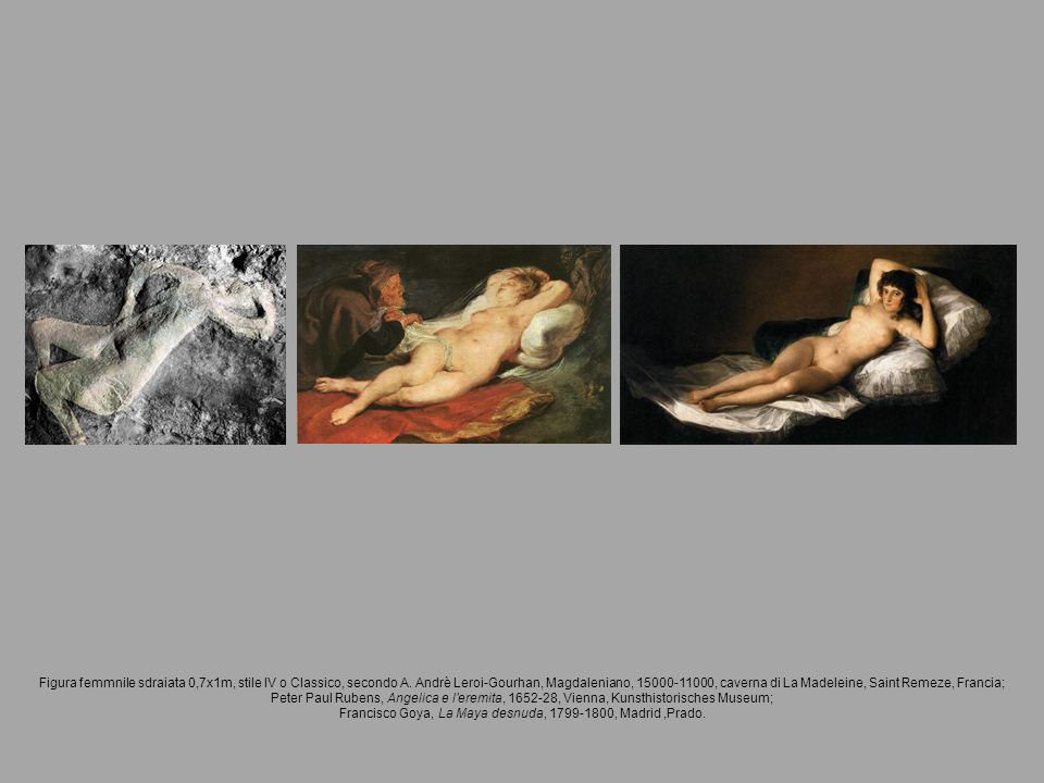 Francisco Goya, La Maya desnuda, 1799-1800, Madrid ,Prado.