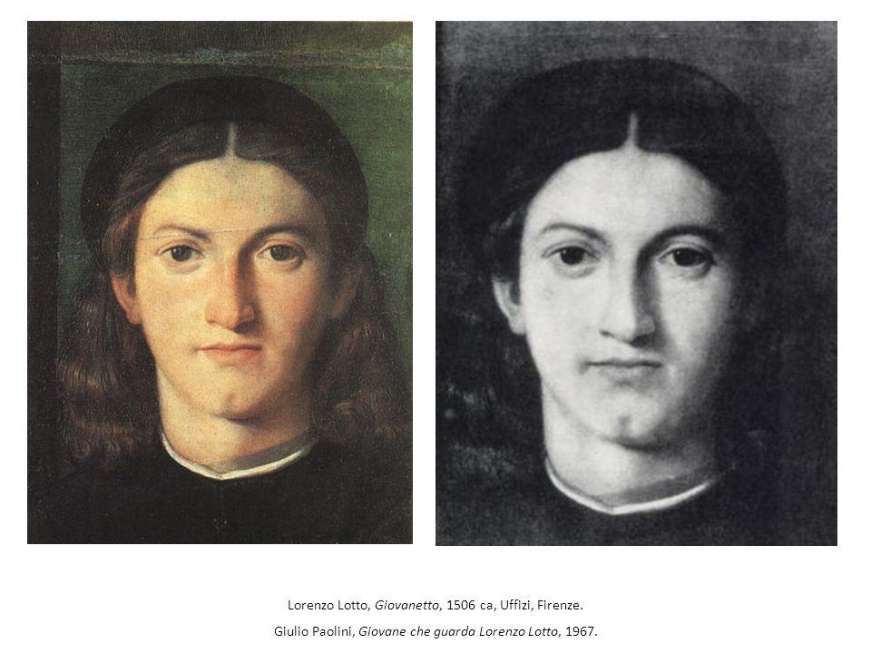 Lorenzo Lotto, Giovanetto, 1506 ca, Uffizi, Firenze.