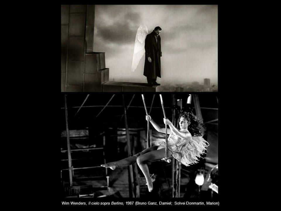 Wim Wenders, Il cielo sopra Berlino, 1987 (Bruno Ganz, Damiel; Solvei Donmartin, Marion)
