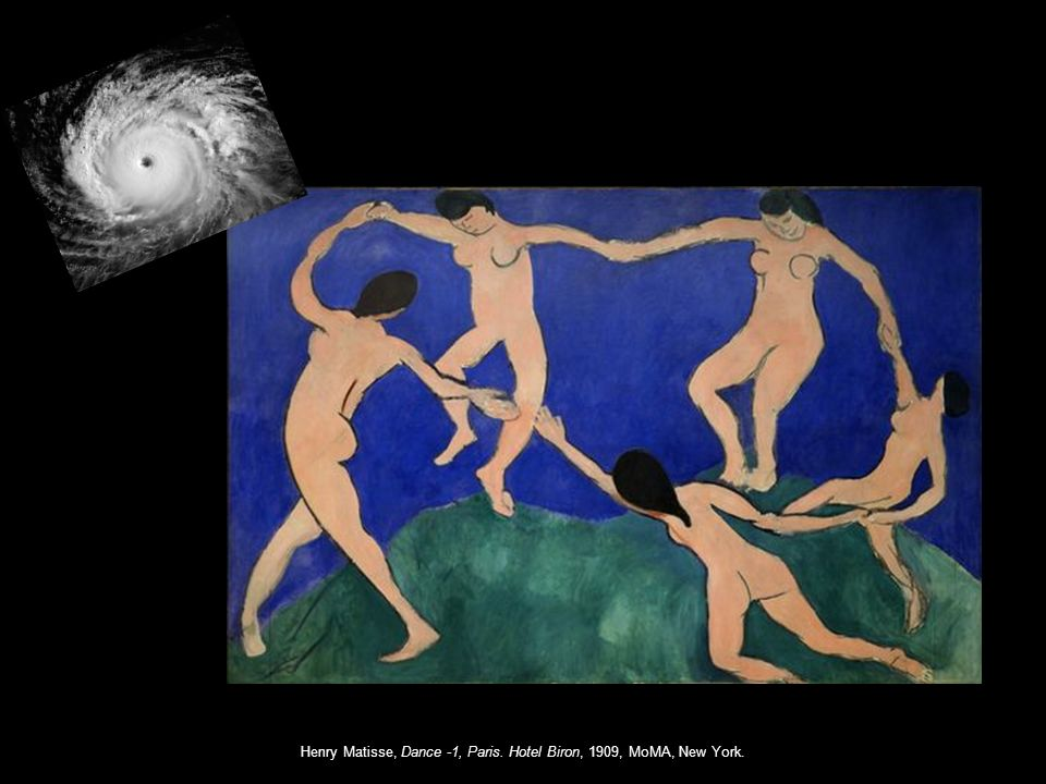 Henry Matisse, Dance -1, Paris. Hotel Biron, 1909, MoMA, New York.