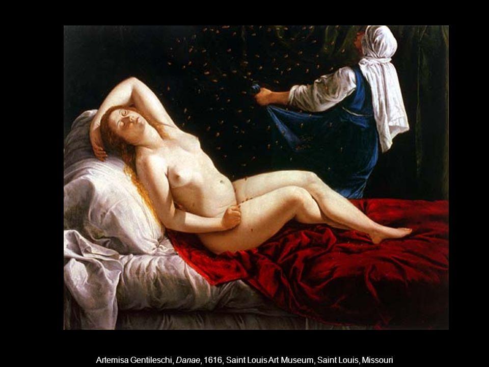 Artemisa Gentileschi, Danae, 1616, Saint Louis Art Museum, Saint Louis, Missouri