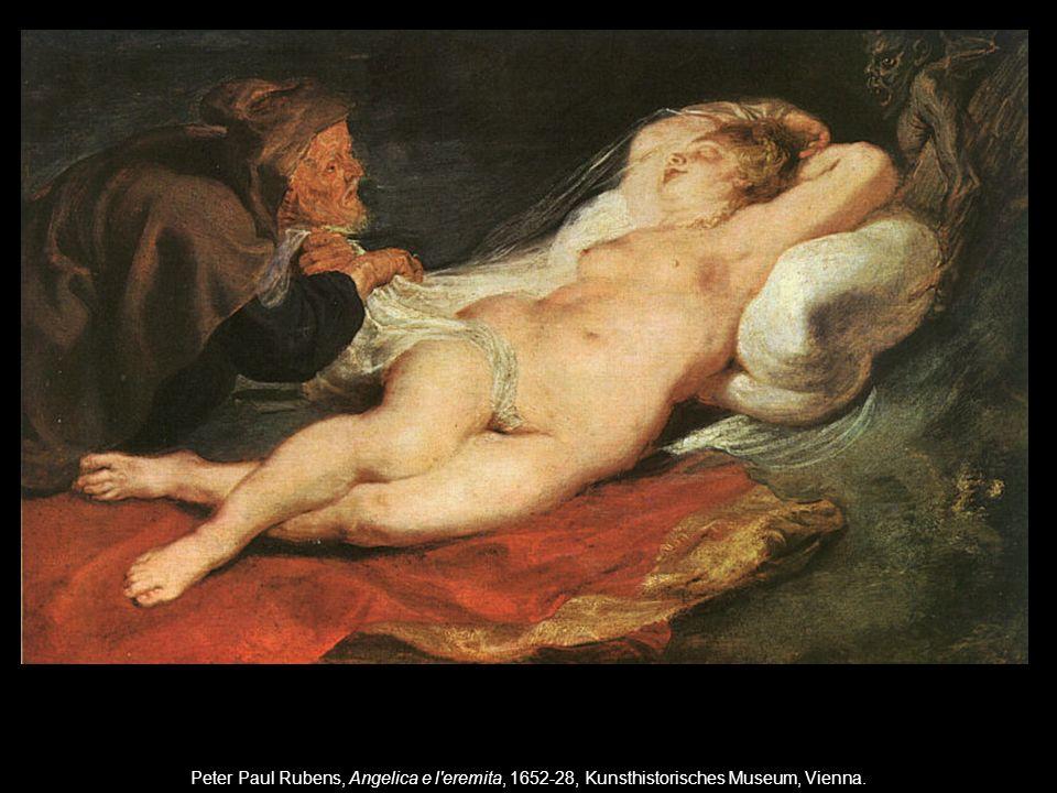 Peter Paul Rubens, Angelica e l eremita, 1652-28, Kunsthistorisches Museum, Vienna.