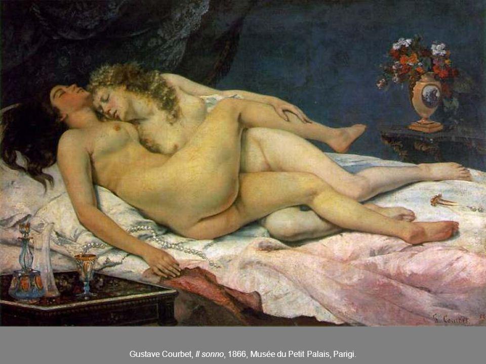 Gustave Courbet, Il sonno, 1866, Musée du Petit Palais, Parigi.