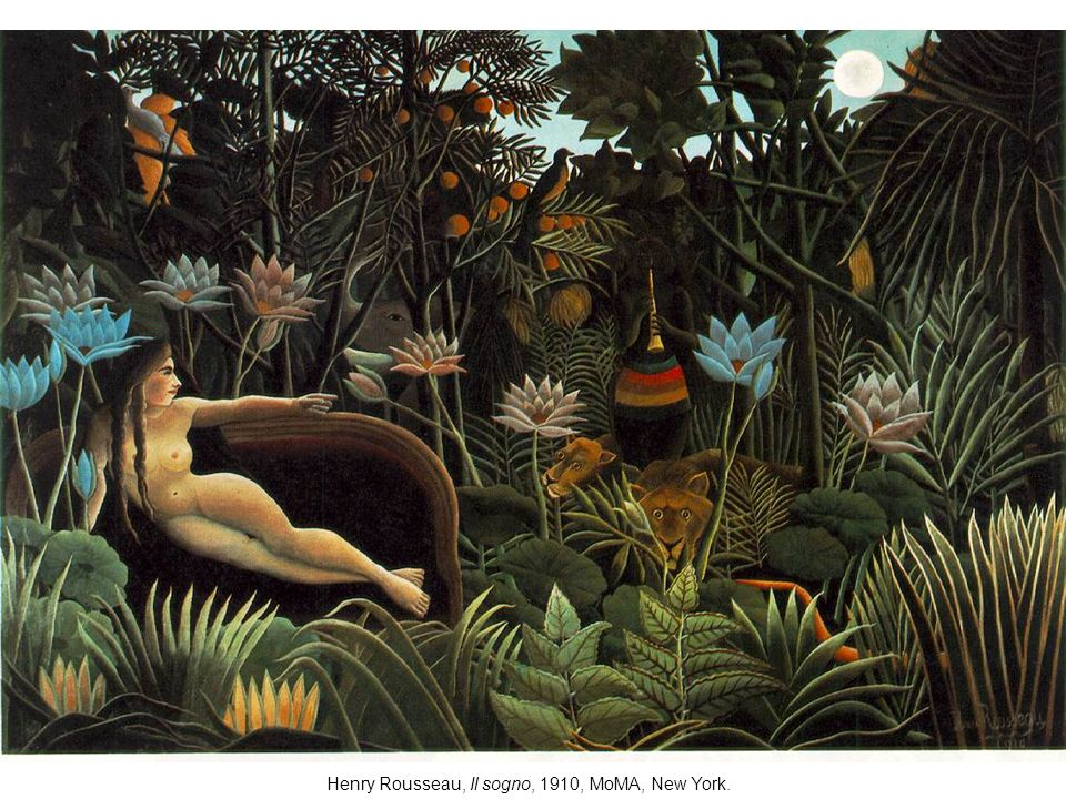 Henry Rousseau, Il sogno, 1910, MoMA, New York.