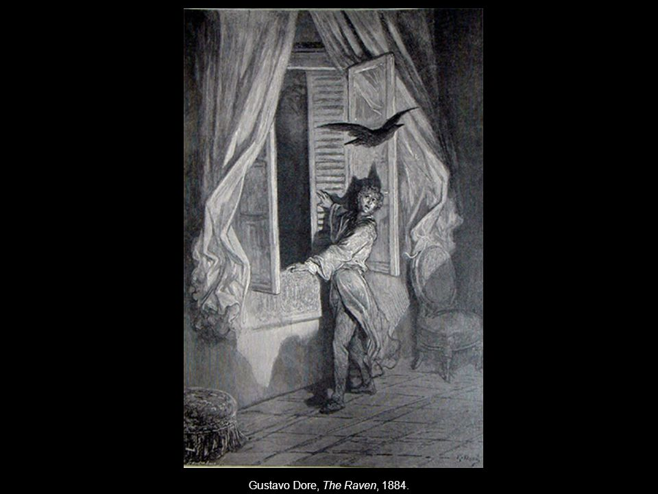 Gustavo Dore, The Raven, 1884.