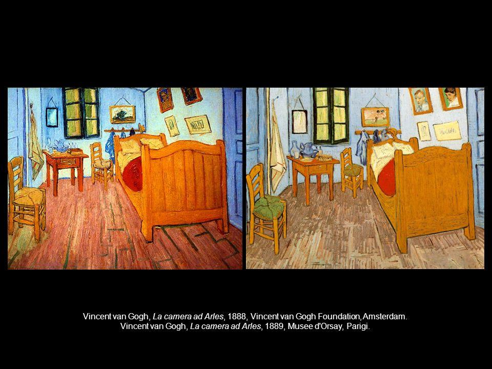 Vincent van Gogh, La camera ad Arles, 1889, Musee d Orsay, Parigi.