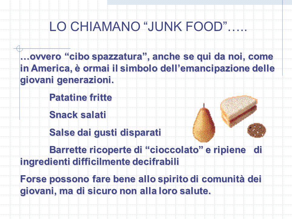 LO CHIAMANO JUNK FOOD …..