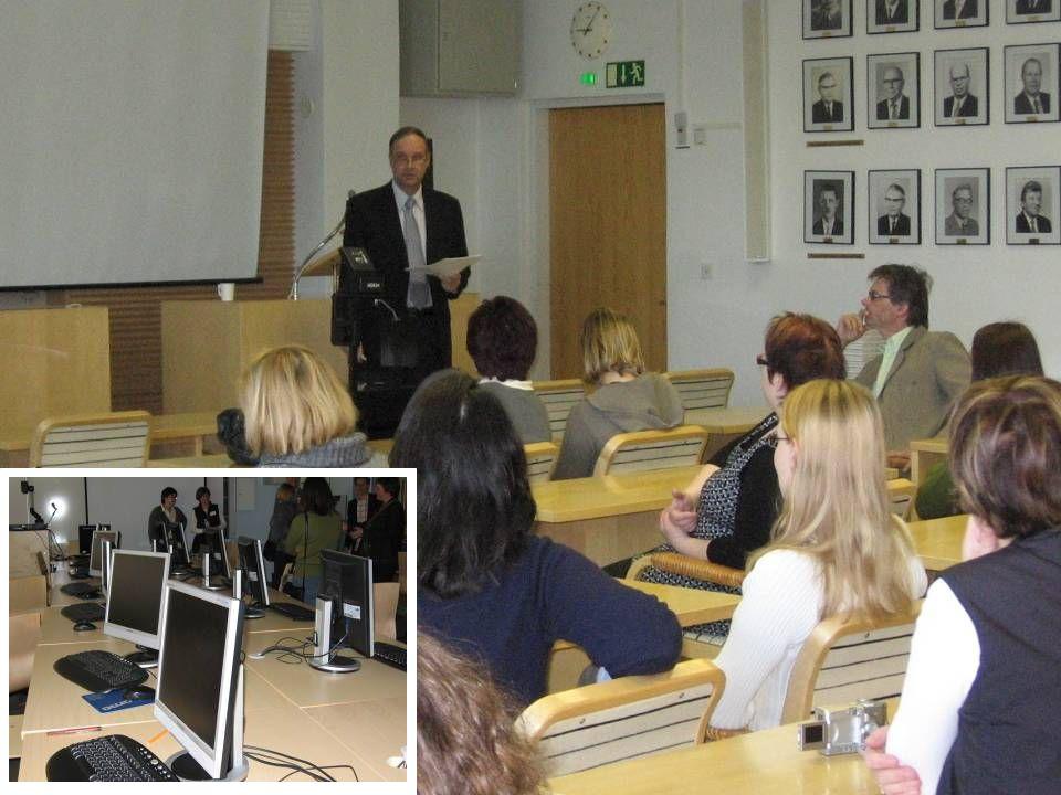 Foto finlandia assessore tecnologia a scuola