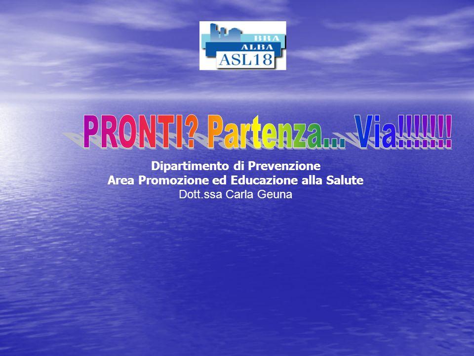 Dipartimento di Prevenzione Area Promozione ed Educazione alla Salute
