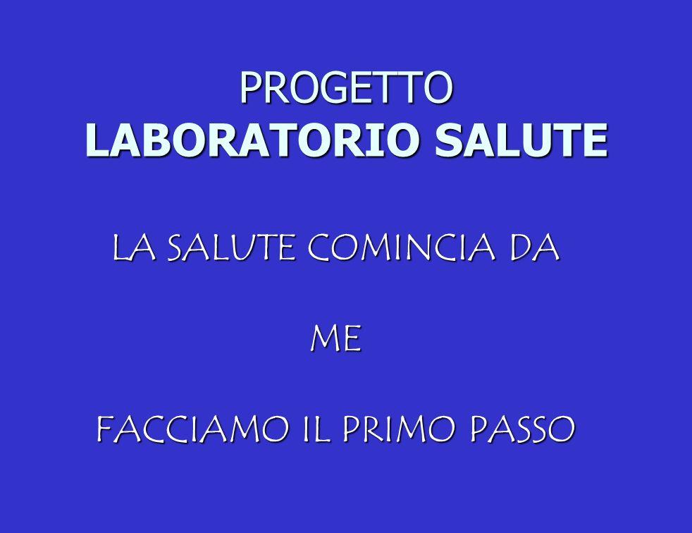 PROGETTO LABORATORIO SALUTE