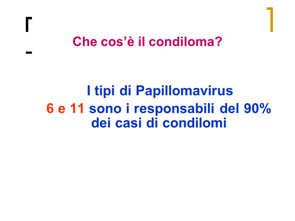 I tipi di Papillomavirus