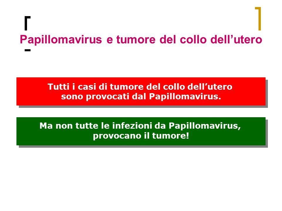 Papillomavirus e tumore del collo dell'utero