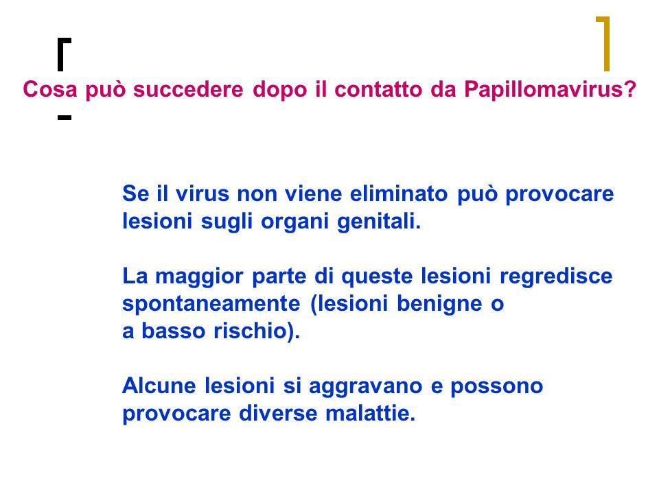 Cosa può succedere dopo il contatto da Papillomavirus