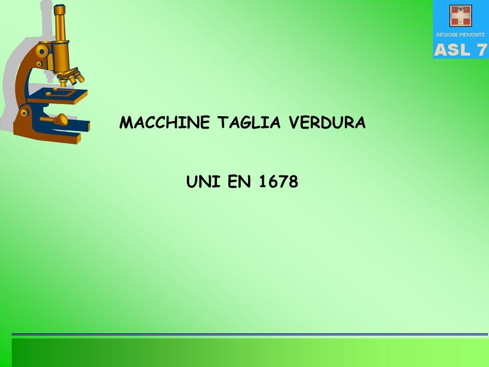 MACCHINE TAGLIA VERDURA
