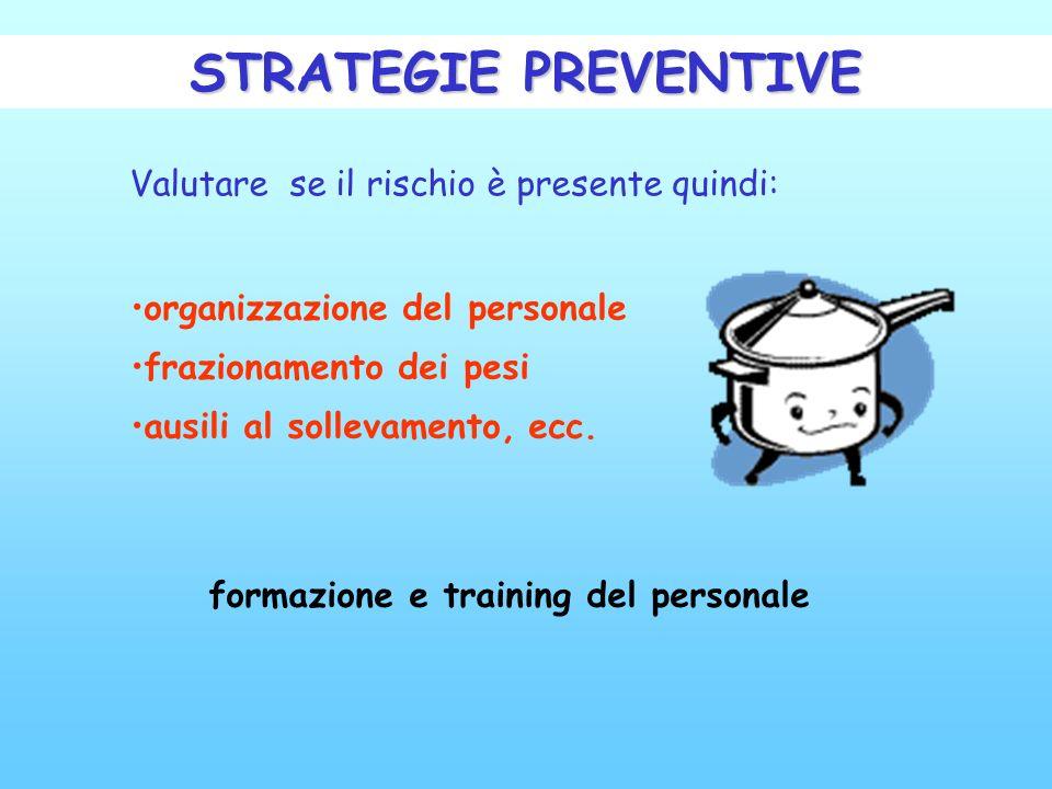formazione e training del personale