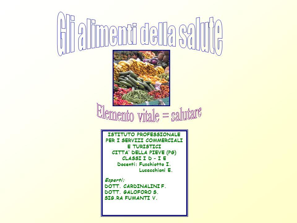 Gli alimenti della salute