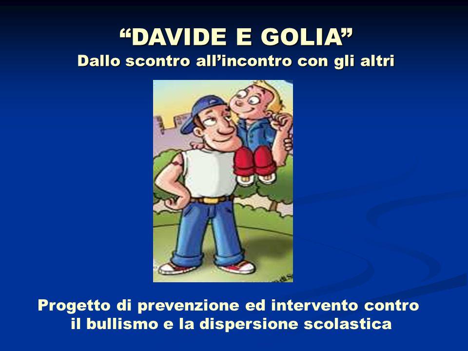 DAVIDE E GOLIA Dallo scontro all'incontro con gli altri