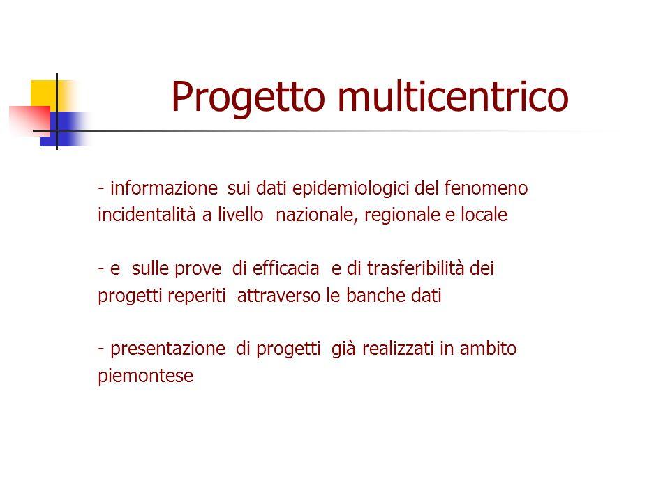 Progetto multicentrico