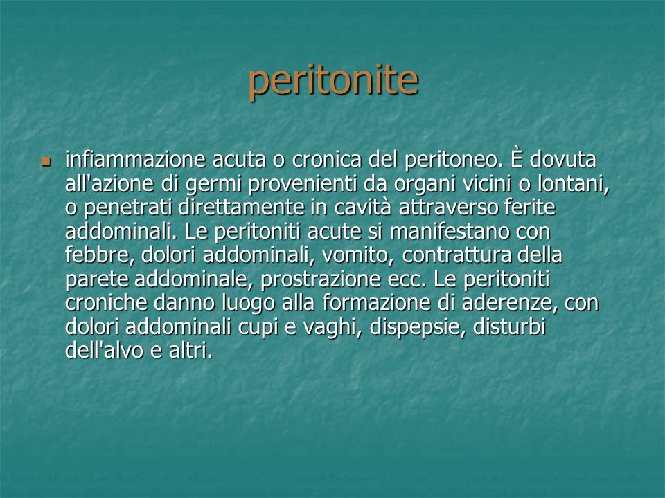 peritonite