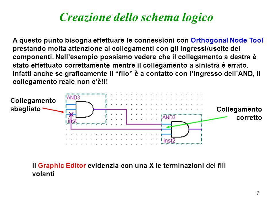 Creazione dello schema logico