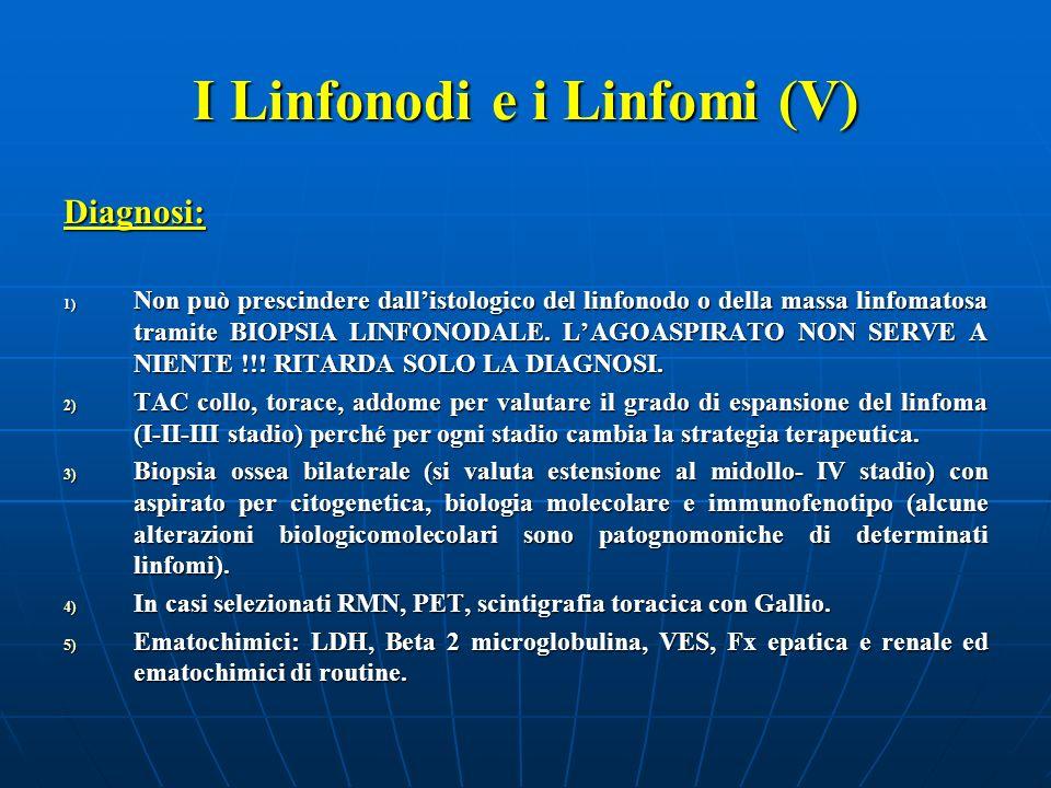 I Linfonodi e i Linfomi (V)