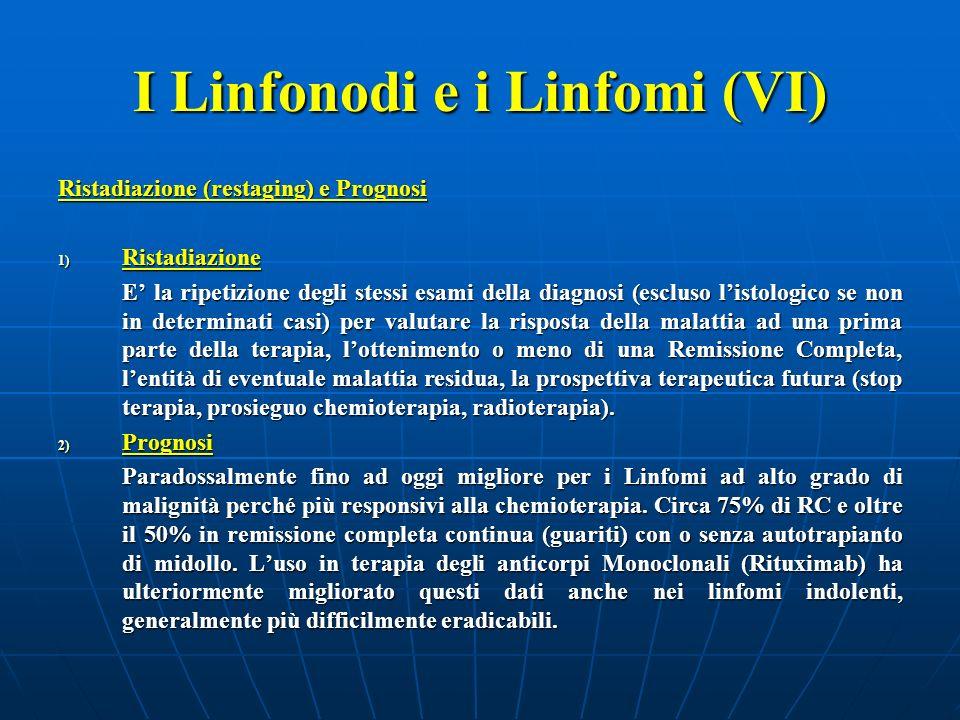 I Linfonodi e i Linfomi (VI)