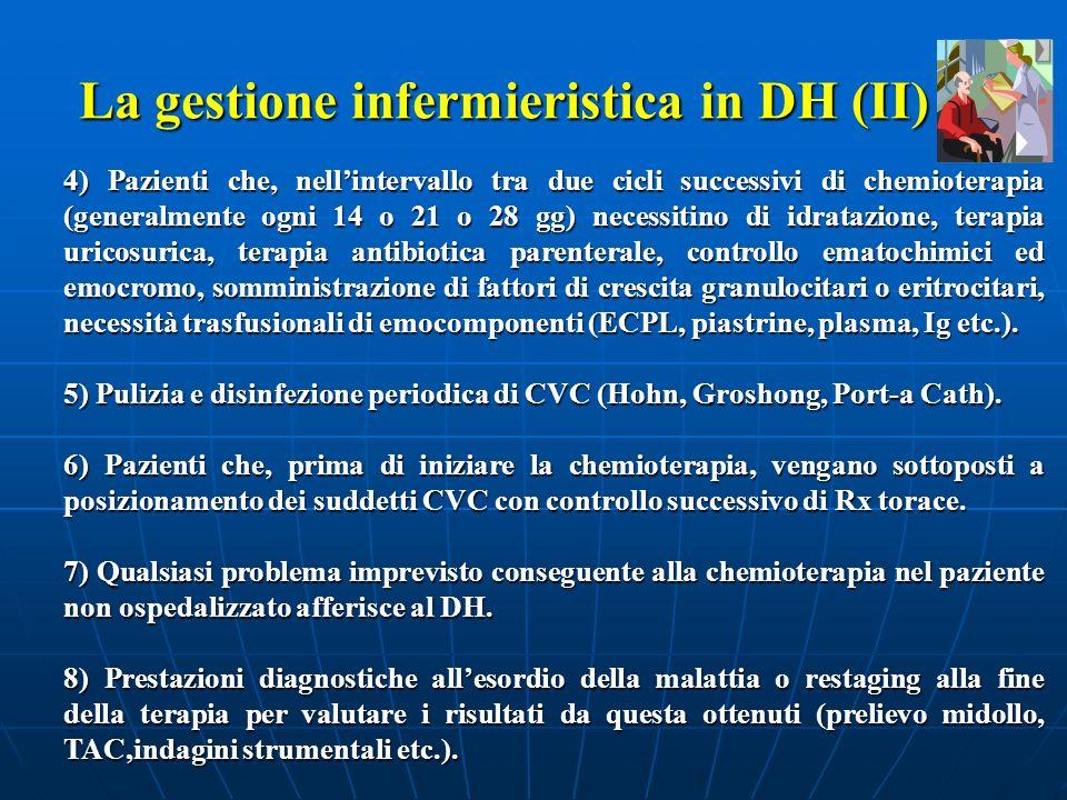 La gestione infermieristica in DH (II)