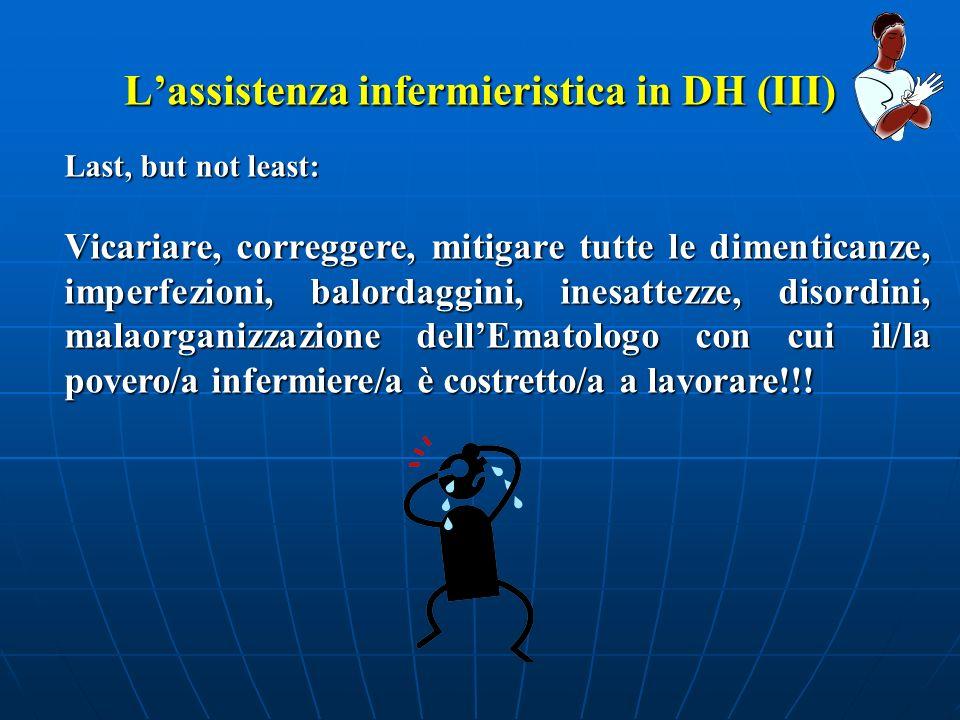 L'assistenza infermieristica in DH (III)