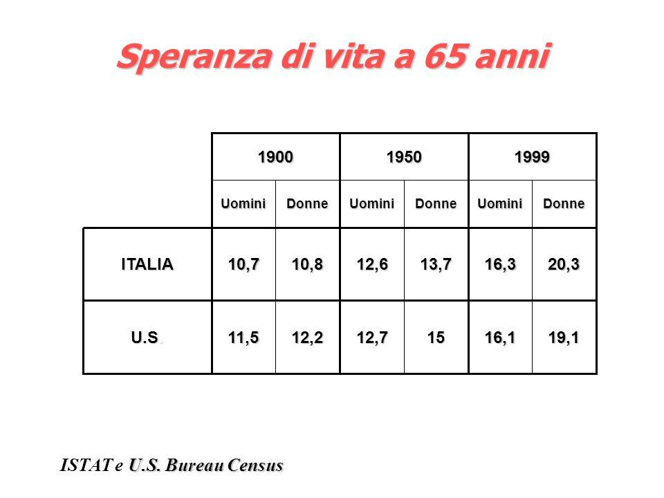 ISTAT e U.S. Bureau Census