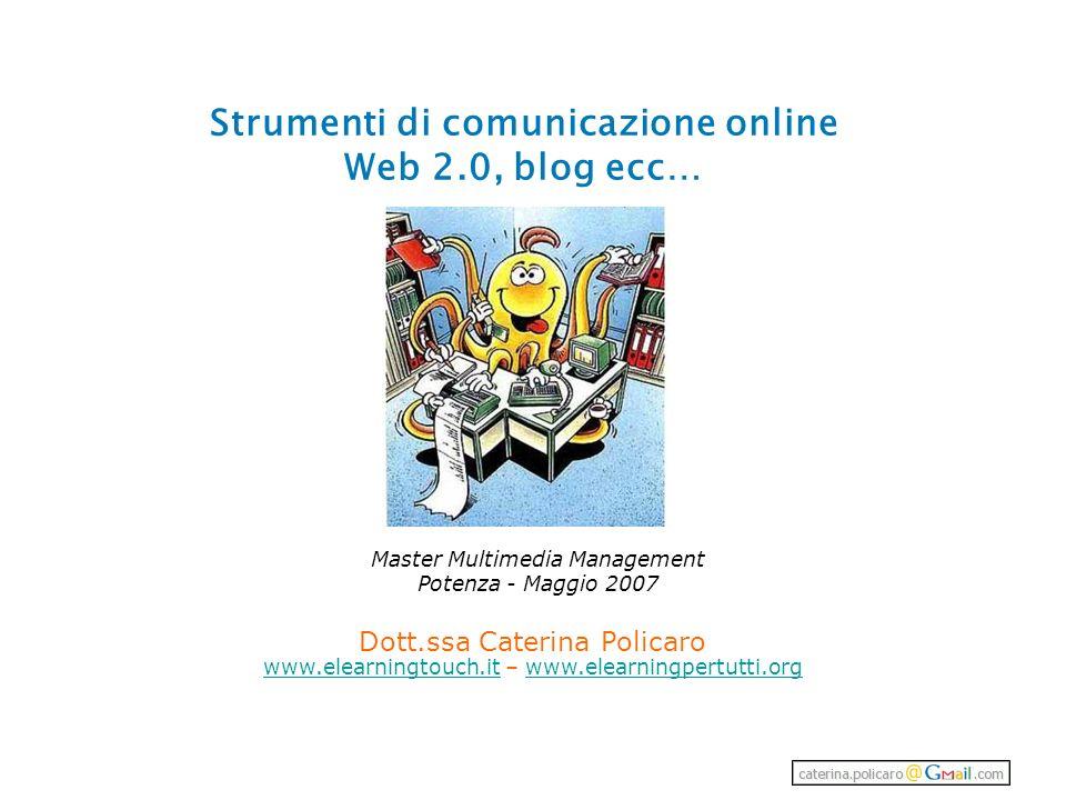 Strumenti di comunicazione online