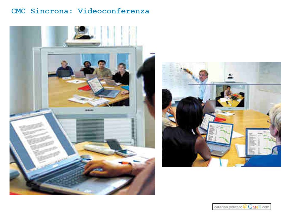 CMC Sincrona: Videoconferenza