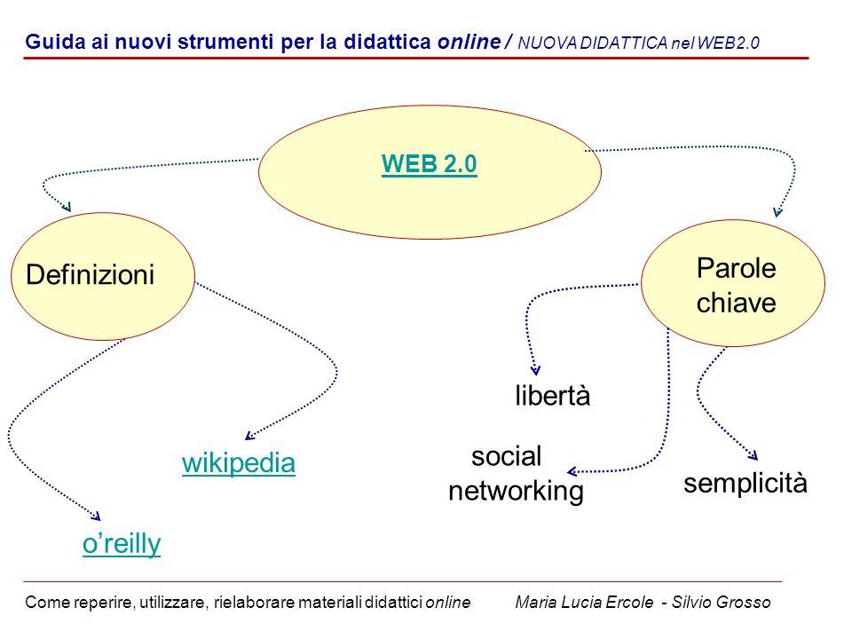 Parole Definizioni chiave libertà social networking wikipedia