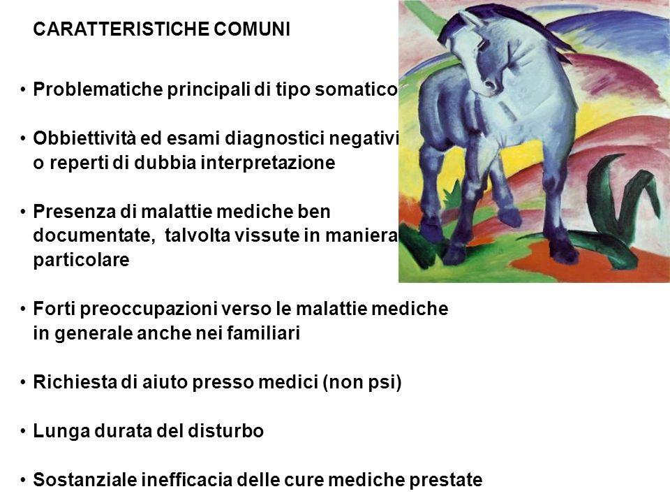 CARATTERISTICHE COMUNI