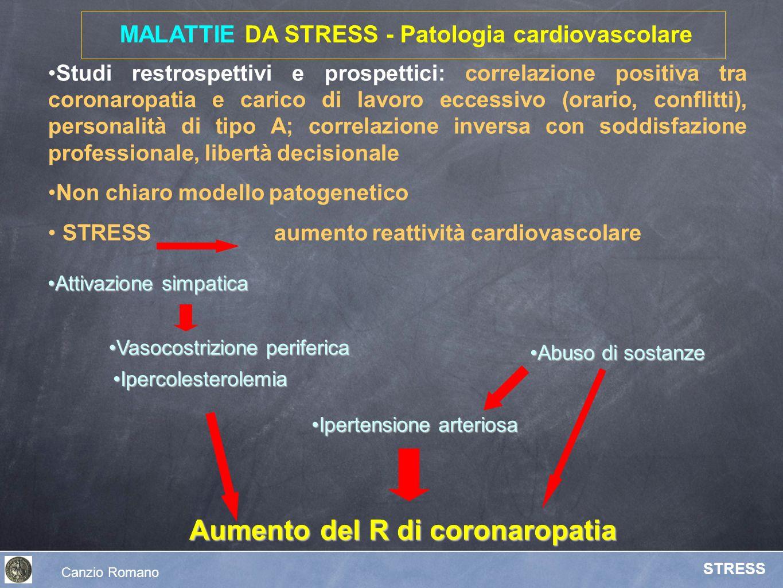 MALATTIE DA STRESS - Patologia cardiovascolare