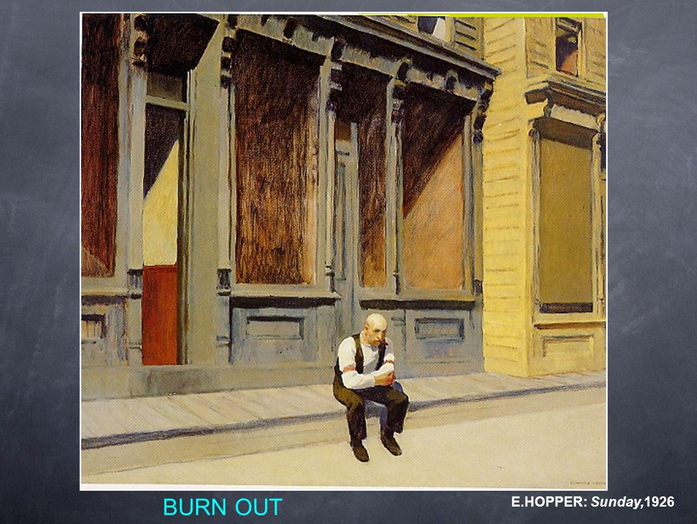 BURN OUT E.HOPPER: Sunday,1926