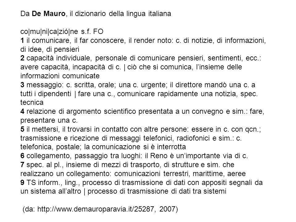 Da De Mauro, il dizionario della lingua italiana