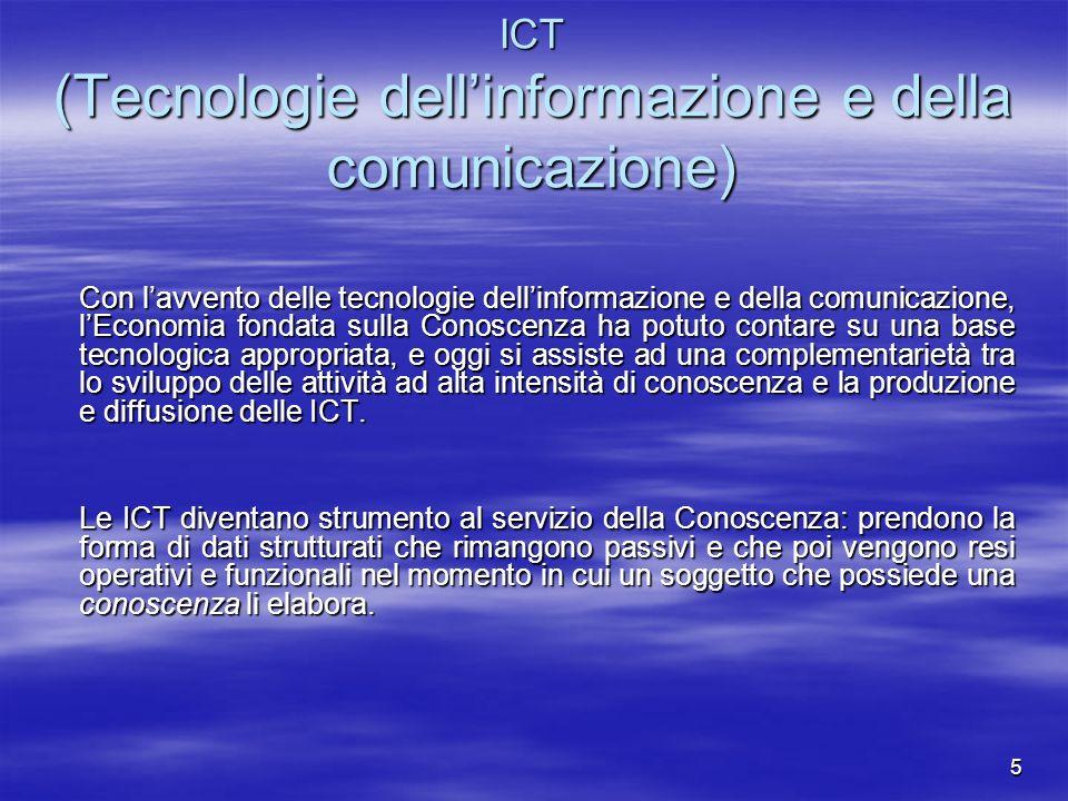 ICT (Tecnologie dell'informazione e della comunicazione)