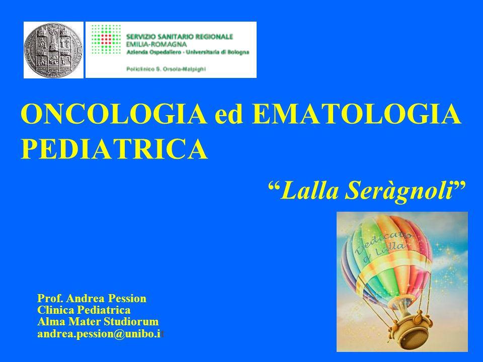 ONCOLOGIA ed EMATOLOGIA PEDIATRICA