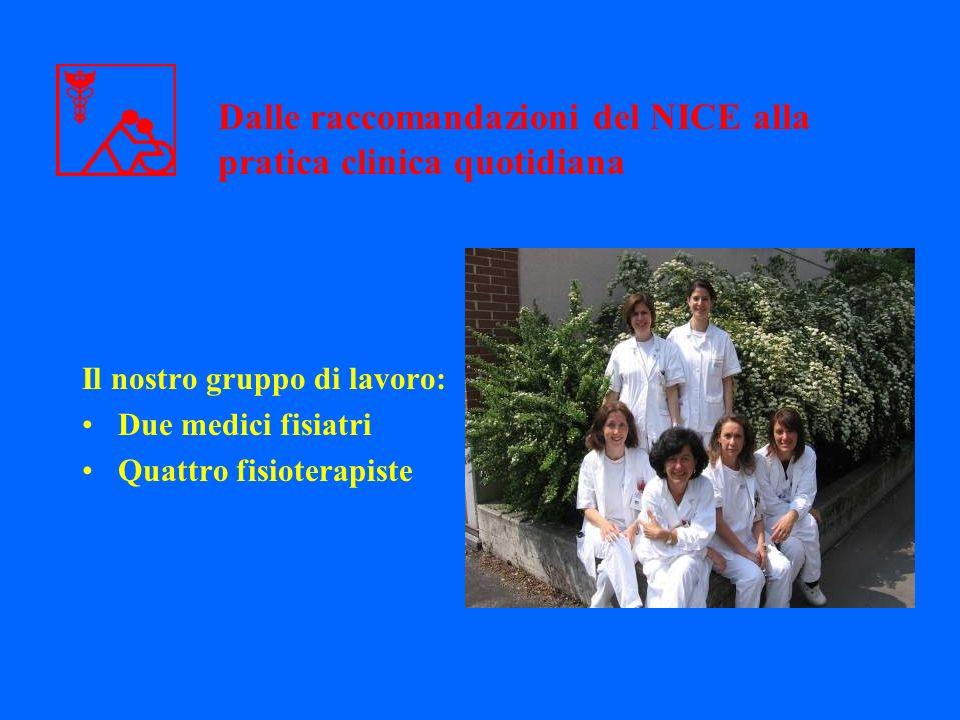 Dalle raccomandazioni del NICE alla pratica clinica quotidiana