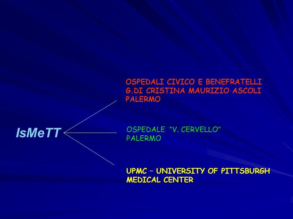 IsMeTT OSPEDALI CIVICO E BENEFRATELLI G.DI CRISTINA MAURIZIO ASCOLI