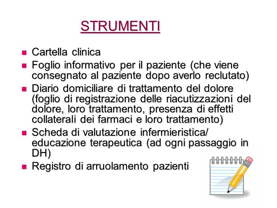 STRUMENTI Cartella clinica